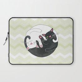 Cat Philosophy Laptop Sleeve