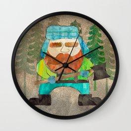 Lumberjack Attack, Modern Mr. Lumberjack Wall Clock