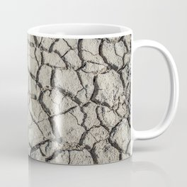 Parched land in the Regional Natural Park of Camargue Coffee Mug