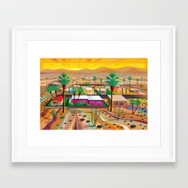 Twentynine Palms Framed Art Print