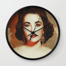 Elizabeth Taylor, Movie Legend Wall Clock