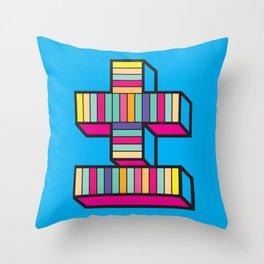 plusminus Throw Pillow