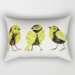 Goldfinches Rectangular Pillow