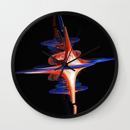 Ground Control to Major Tom Wall Clock