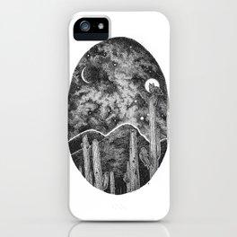 Desert Night Owl iPhone Case