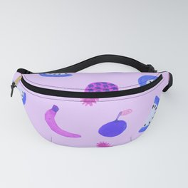 Purple Fruit Salad Fanny Pack
