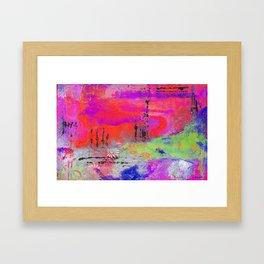 Mixed Media Abstract 2 Framed Art Print