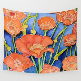 Pardon my Poppies Wall Tapestry