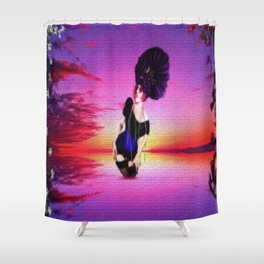 """""""Is Lady of the Lake Just One More Girl?"""" Shower Curtain"""