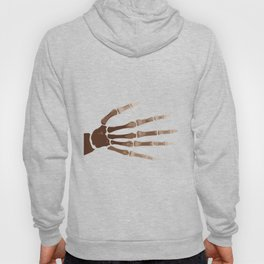 Isolated Boney Hand Hoody