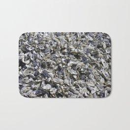 Shucked Oyster Shells Bath Mat