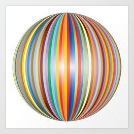 Color prisme Art Print