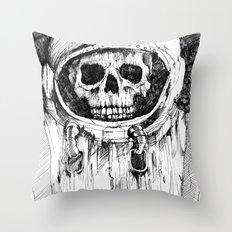 Kosmonauts dream Throw Pillow