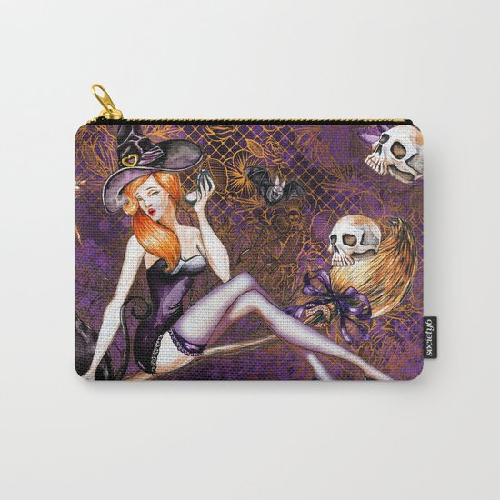Halloween Witch #1 Carry-All Pouch
