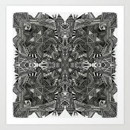 Triptamine Art Print