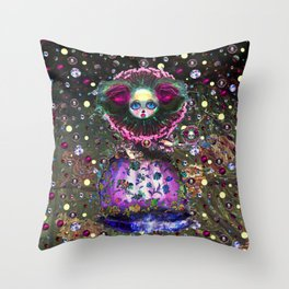Black Forest Bride Throw Pillow