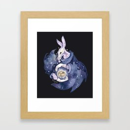 the end and beginning Framed Art Print