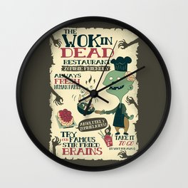 The Wok In Dead (v.2) Wall Clock