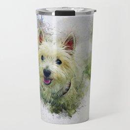West Highland White Terrier Travel Mug