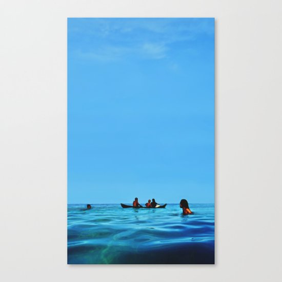 Island Sundays Canvas Print