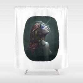 Dreamy Jaaz Shower Curtain