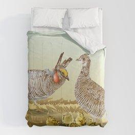 Lesser Prairie Chicken Comforters
