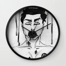 Black Roses - Dean Winchester Wall Clock
