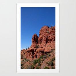 (#43) Sedona Red Rocks Art Print