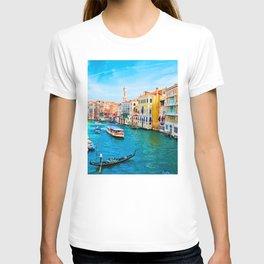 Italy. Venice lazy day T-shirt