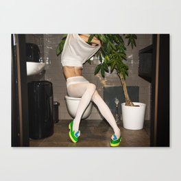 I've been waiting for you the whole week. It's time to play Canvas Print