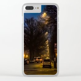 Wolf's way Clear iPhone Case