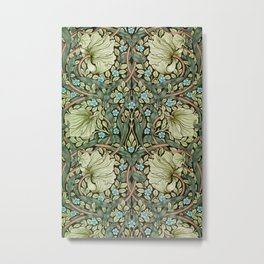 Pimpernel by William Morris Metal Print