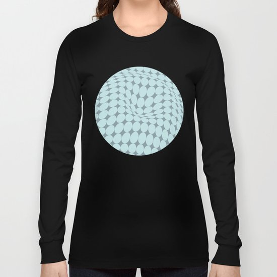 Swirling Points - Optical game 22 Long Sleeve T-shirt