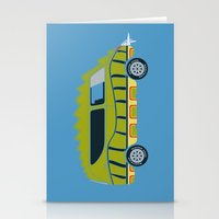 1975 Stationery Cards featuring Death Race 2000 Alligator Van by Brandon Ortwein