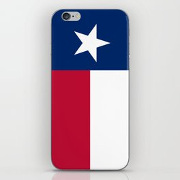 Texas State Flag, Authentic Version iPhone Skin