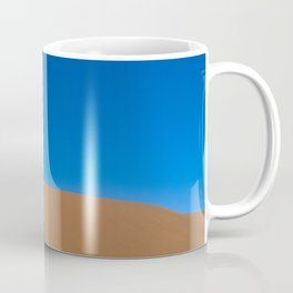 Lone desert tree on an Ancient River bed Coffee Mug