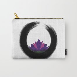 Enso & Lotus Carry-All Pouch