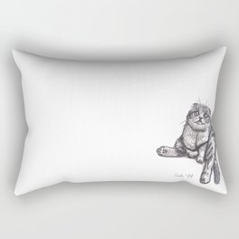 Scottish Fold Rectangular Pillow