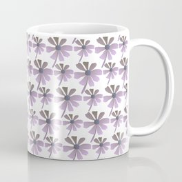 Daisies In The Summer Breeze - Purple Hue Coffee Mug