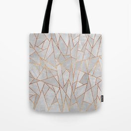 Shattered Concrete Tote Bag