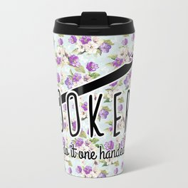 hookers do it one handed funny crochet Travel Mug