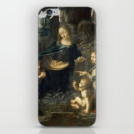 "Leonardo da Vinci ""The Virgin of the Rocks"" (Louvre) iPhone Skin"