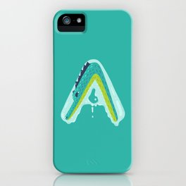 A for Alligator iPhone Case