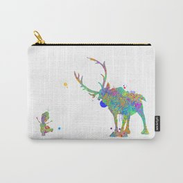 Olaf and Sven Carry-All Pouch