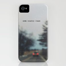 down country roads Slim Case iPhone (4, 4s)