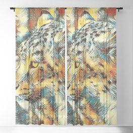 AnimalArt_Leopard_20170606_by_JAMColorsSpecial Sheer Curtain