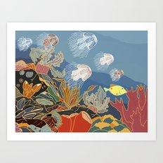 Cizé Art Print
