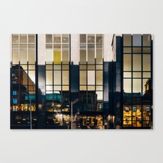 Surface Tension: Glasgow Centre Canvas Print