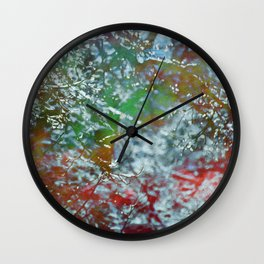 Green Frost Wall Clock