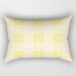 GINGHAM - SUNNY YELLO Rectangular Pillow